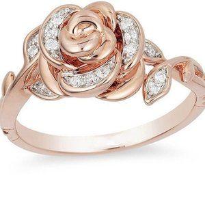 ROSE Gold Rose Ring 7